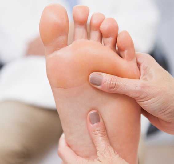 applying essential oils topically to the feet