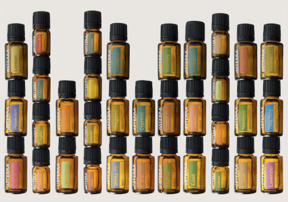 Single essential oils from doTERRA
