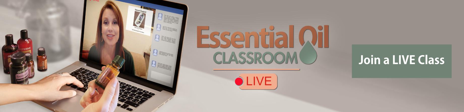 Essential Oil Live Classroom