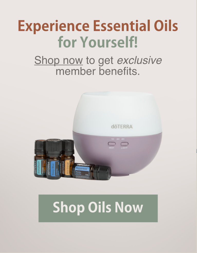 Experience Essential Oils for Yourself - Shop Oils Now